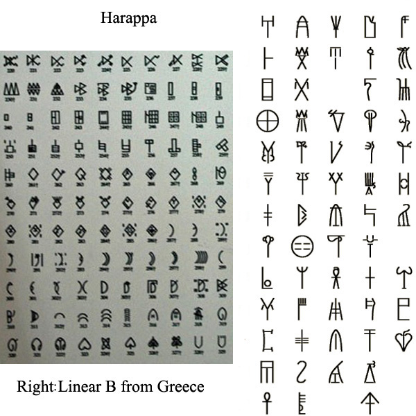 Harappa to Linear B