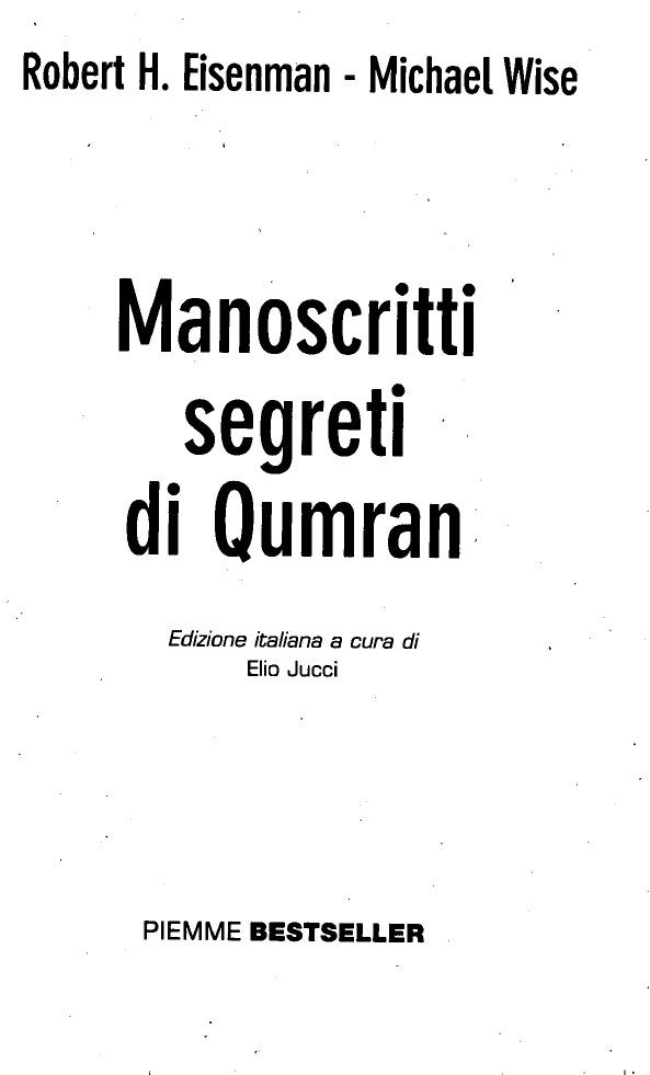 Criptic Qumran 0