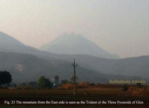 Girnar three pyramids trident