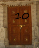 Internal door of the Temple of Solomon10