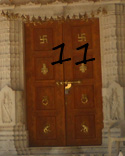 Internal door of the Temple of Solomon11